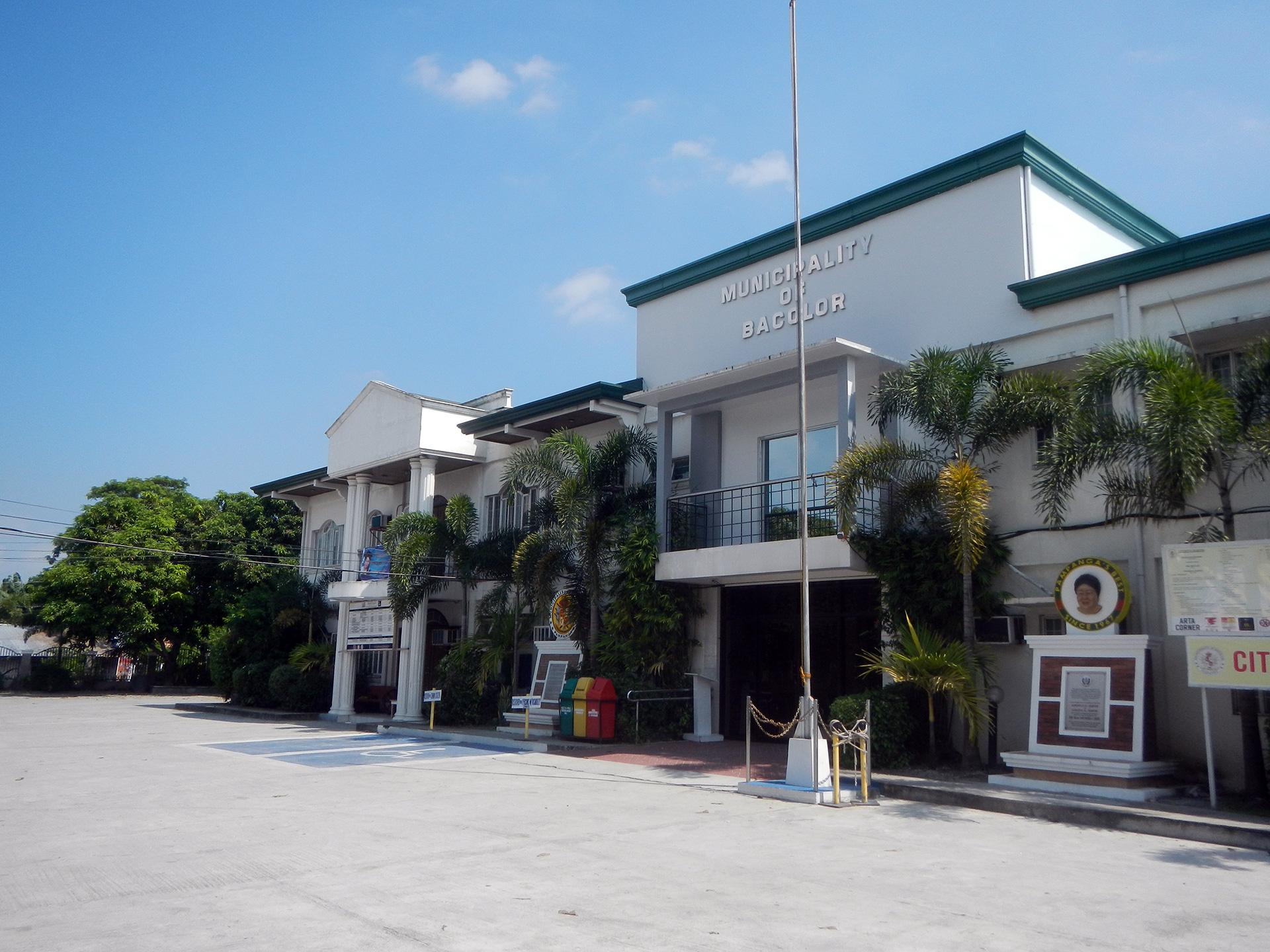 Bacolor Pampanga municipality