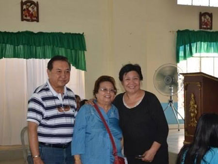 Mr. Ben Ricafort, president and Ms. Sylvia Ordonez, CEO